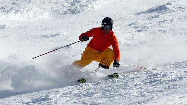Оригинальная лыжный протез Йозефа Metelka