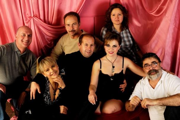 Со съемочной группой в Берлине